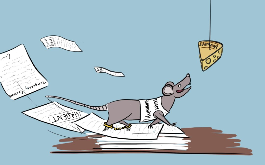 Are you Stuck in the International Non-Profit Rat Race? - Liz Griffin